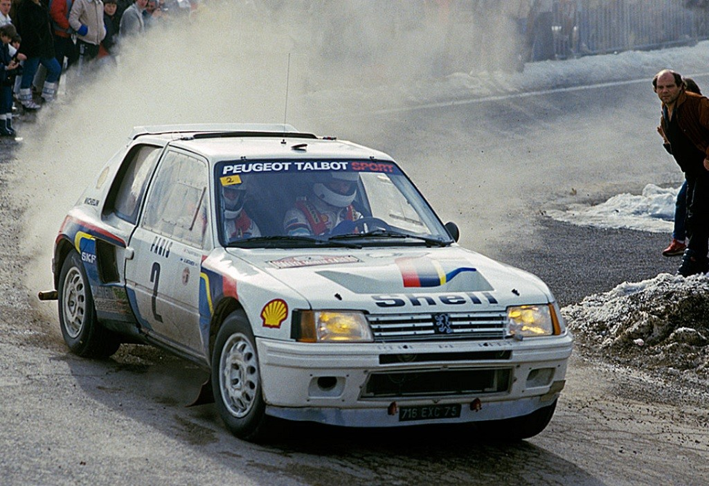 Peugeot 205 Turbo 16 EVO 1 (2)