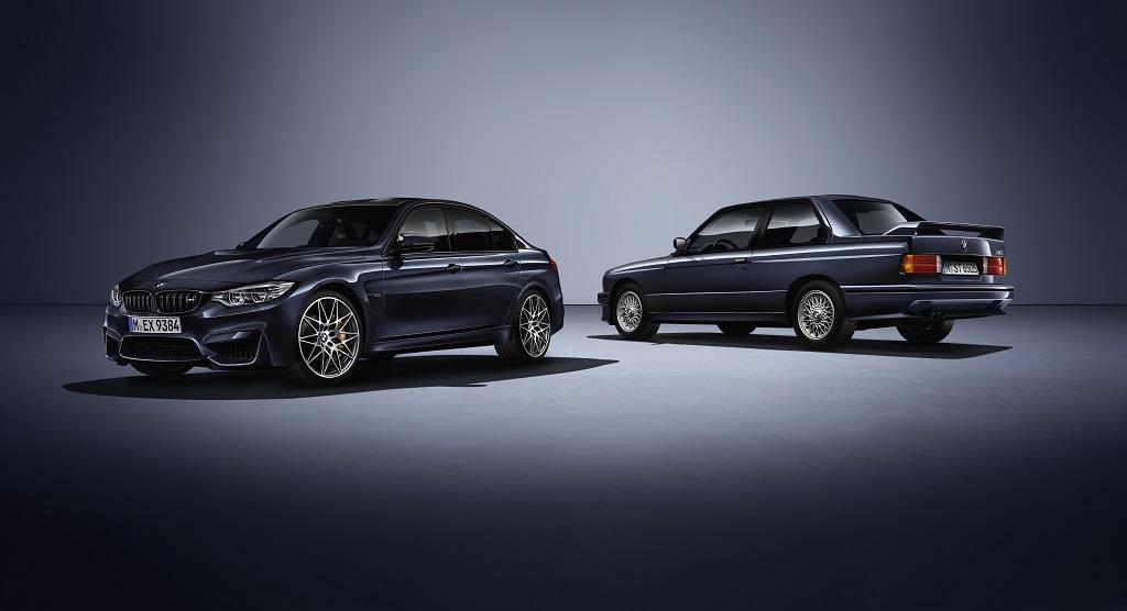 """BMW M3 """"30 Años M3"""", todo un homenaje a la primera generación"""