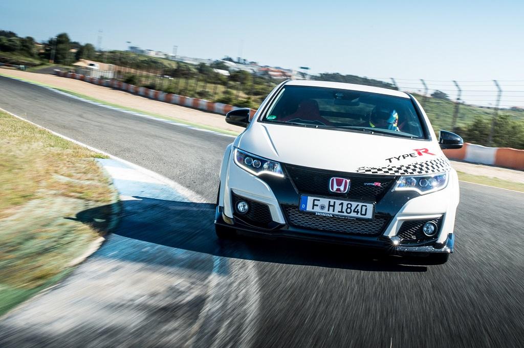 EL Honda Civic Type R establece nuevas marcas en cinco circuitos míticos de Europa
