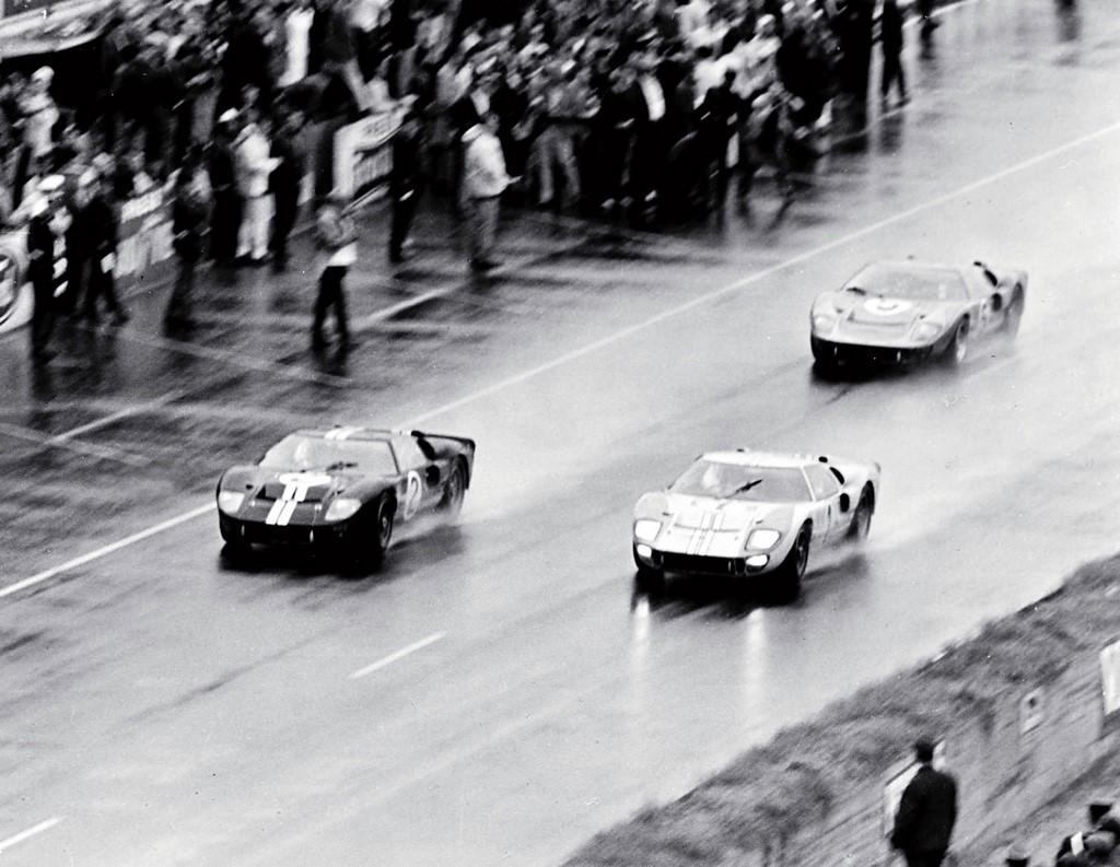 Se cumplen 50 años de la histórica victoria de Ford en Le Mans