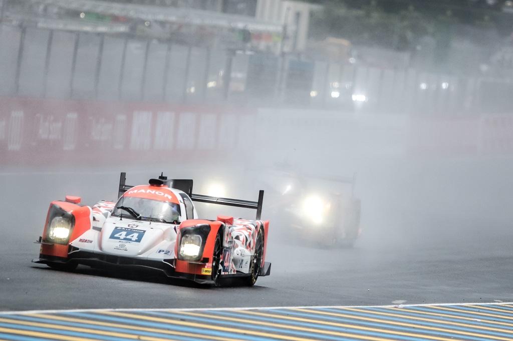 Roberto Merhi en las 24 horas de Le Mans