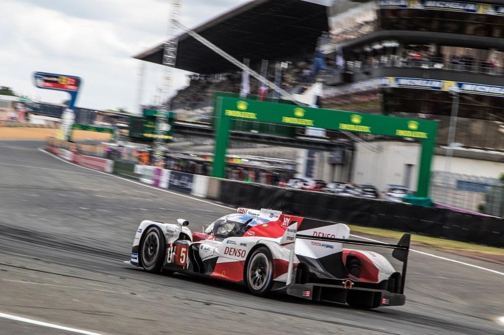 Toyota TS050 Hybrid #5 24 horas de Le Mans 2016