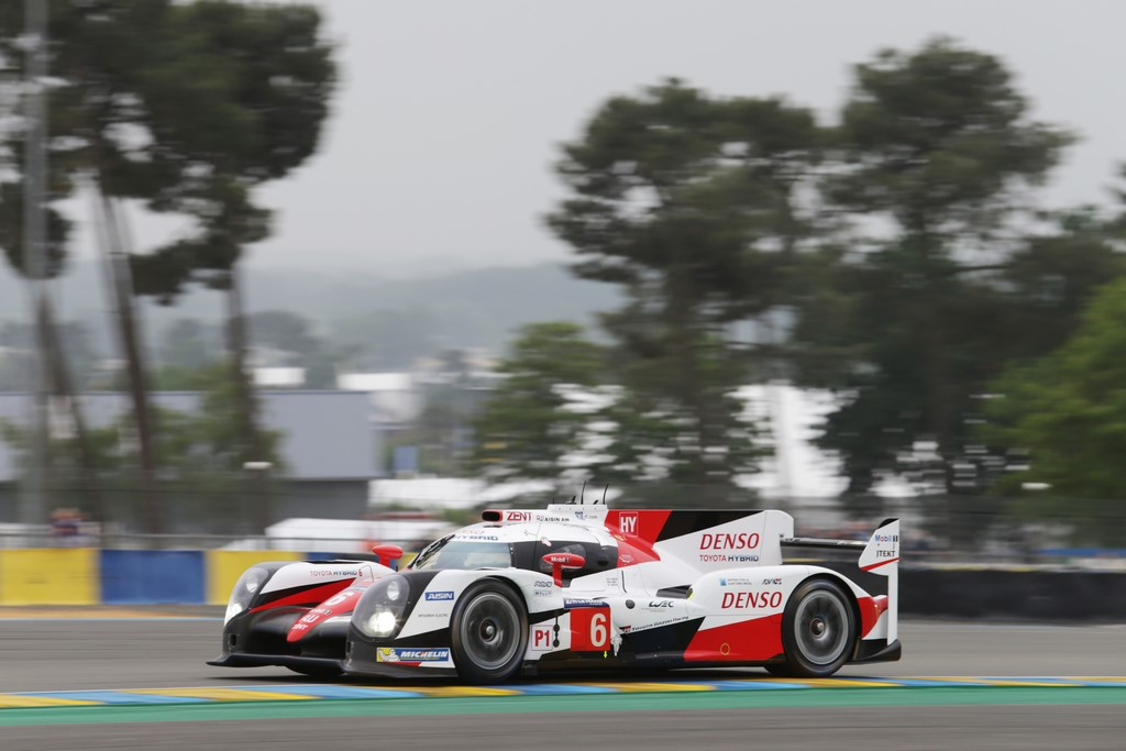 Le Mans Test Day