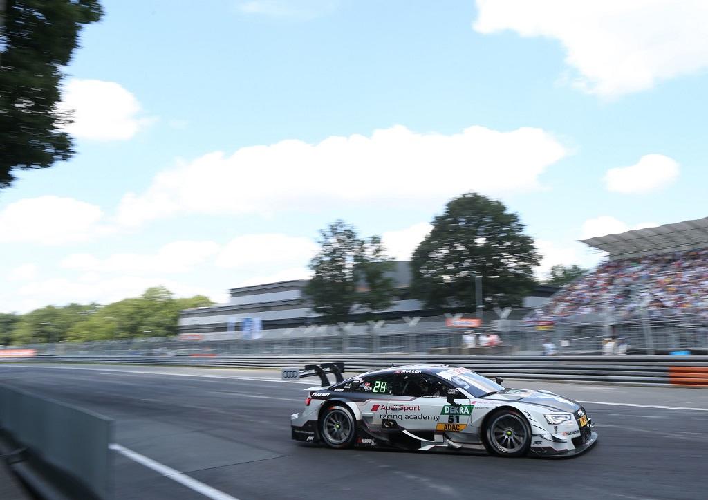 Audi consigue la segunda victoria en Norisring con Nico Müller