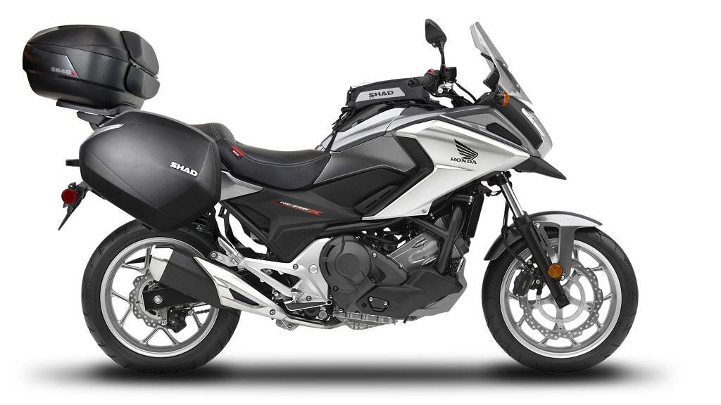 SHAD equipa tu Honda NC750X para cualquier aventura