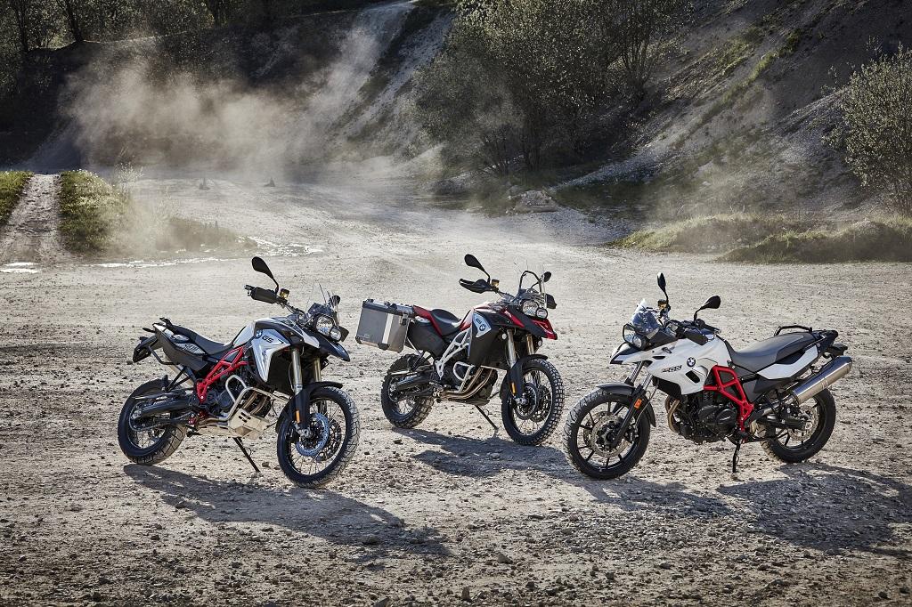 BMW Motorrad estrena nuevas cualidades para los modelos GS