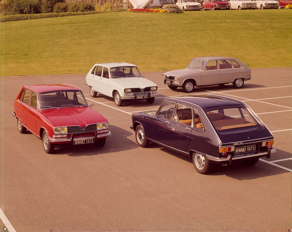 Gama Renault 16