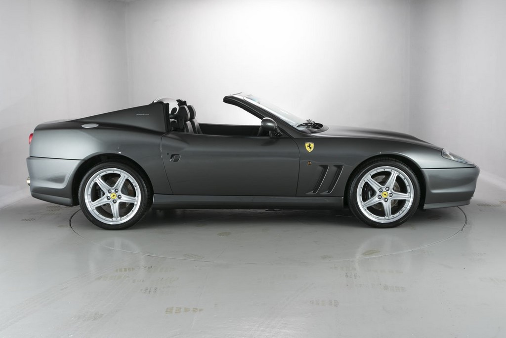 Ferrari 575 side roof down
