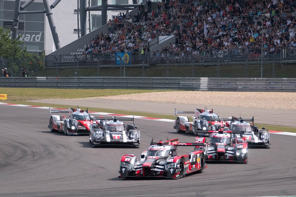 Salida de las 6 horas de Nürburgring