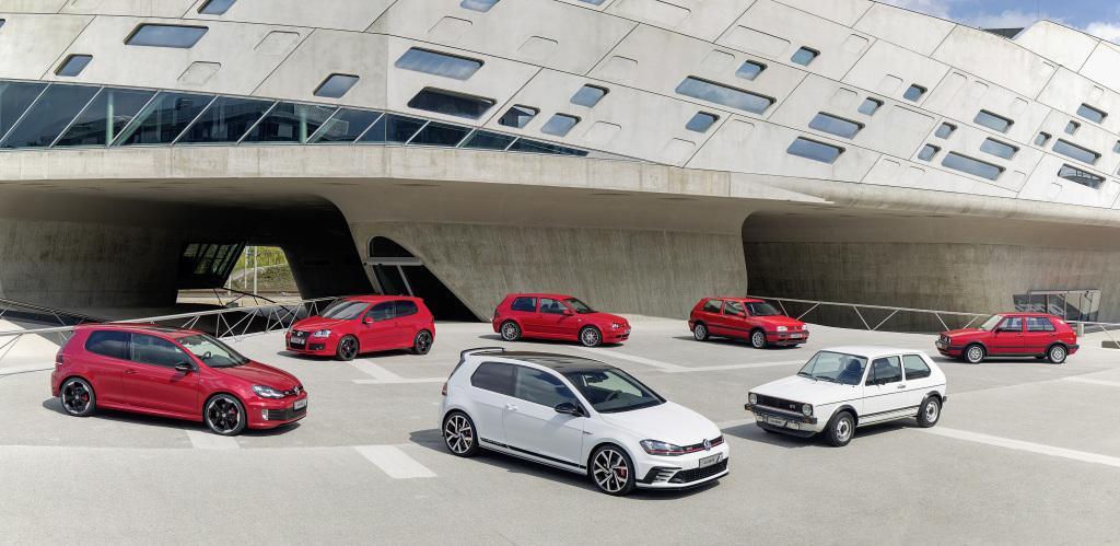 VW Golf GTI generaciones