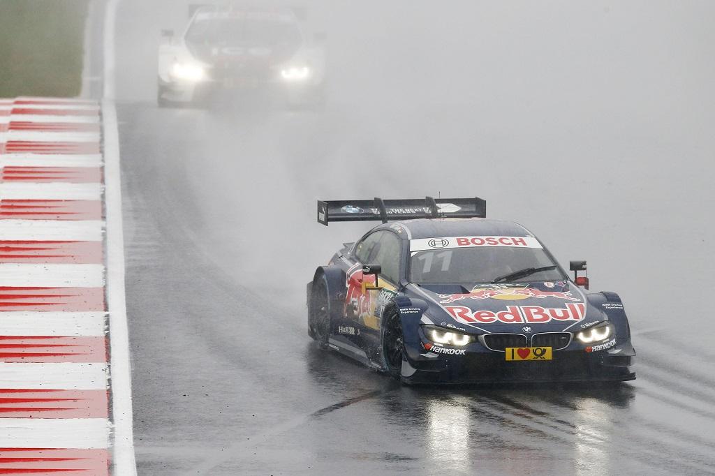 Marco Wittmann en el Moscow Raceway