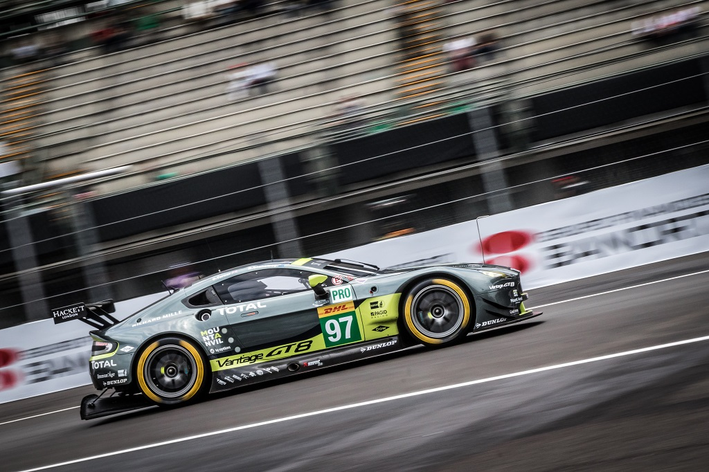 CAR #97 / ASTON MARTIN RACING / GBR / Aston Martin Vantage - WEC 6 Hours of Mexico - Autodrome Hermanos Rodriguez - Mexico City - Mexique