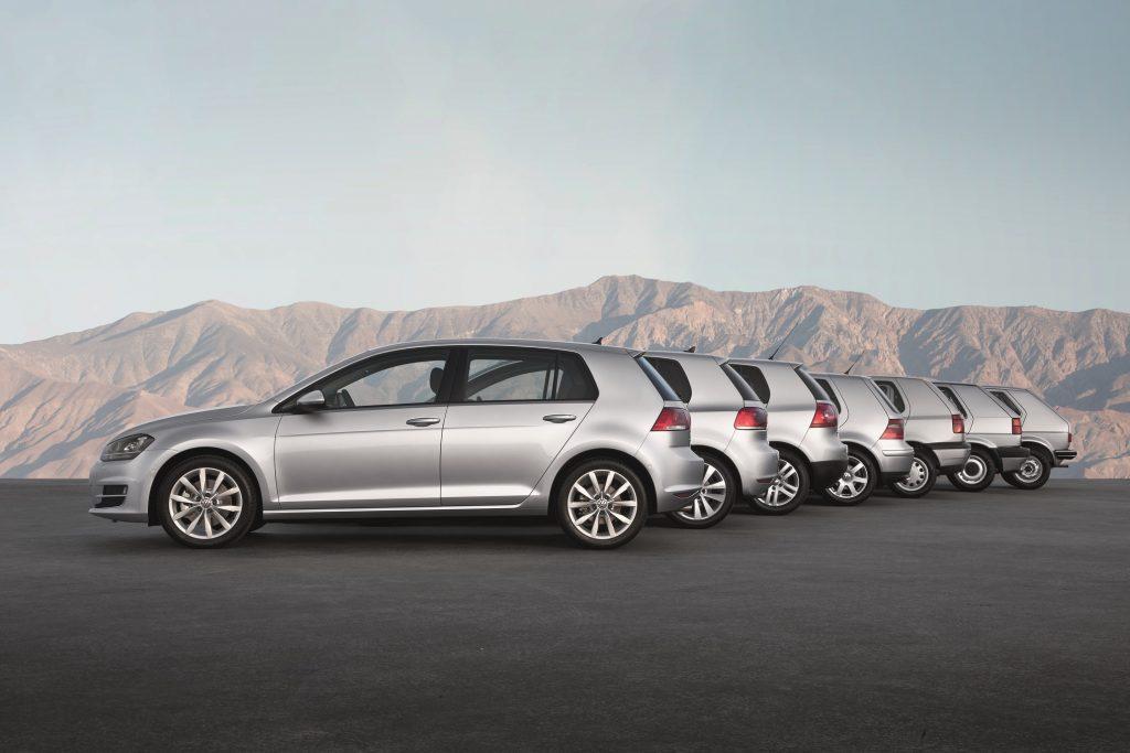Volkswagen-Golf-generaciones