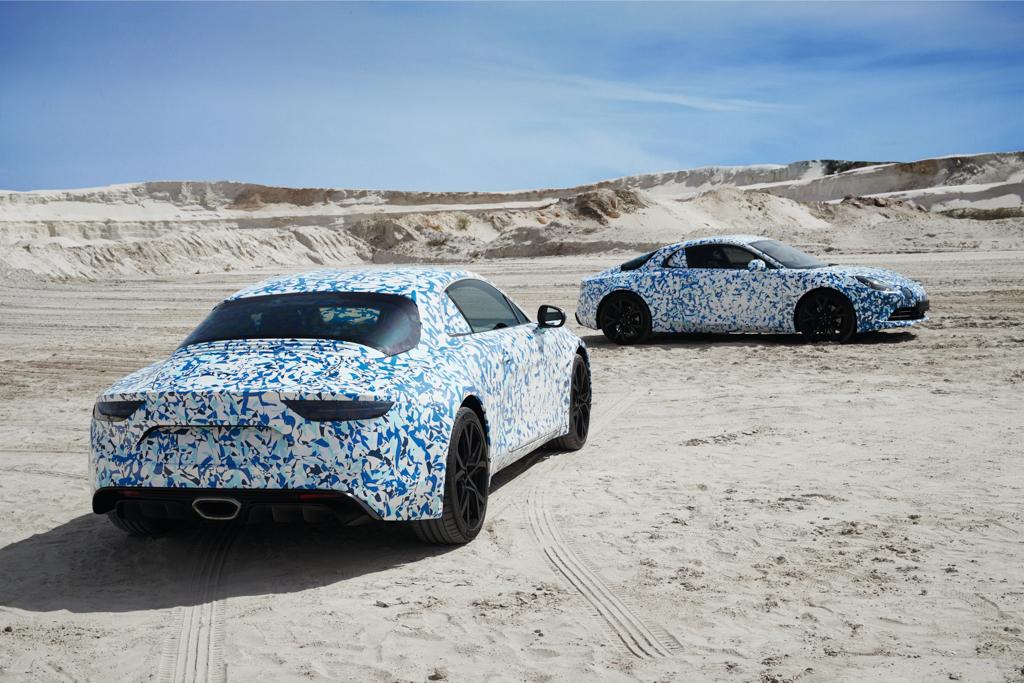 El próximo modelo de Alpine contará con un chasis de aluminio