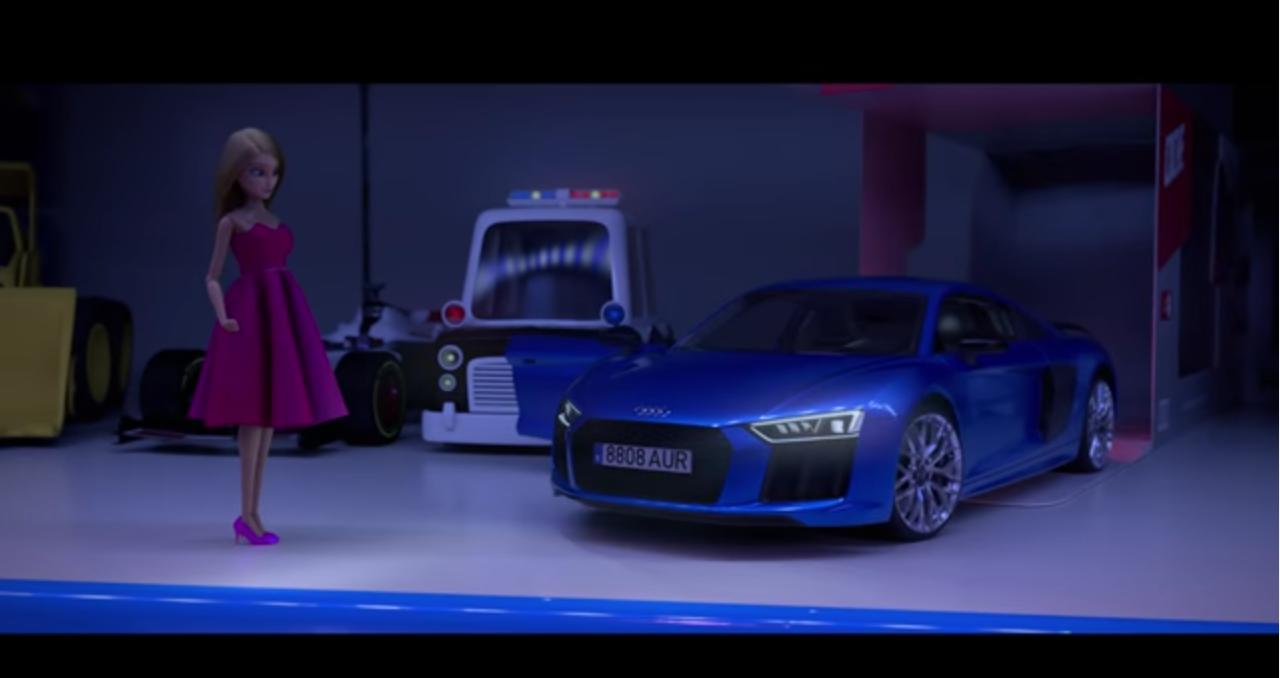 Audi La muñeca que eligió conducir
