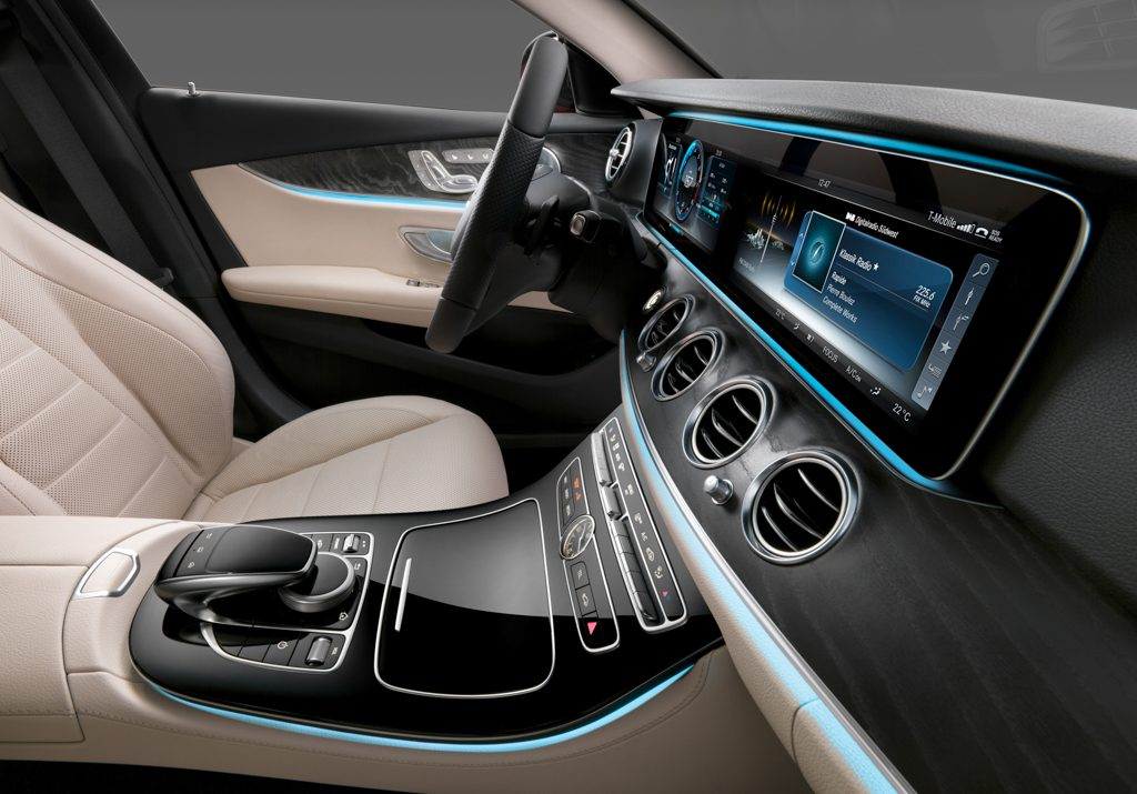 Die neue E-Klasse – Design Insight: Interieur ; The new E-Class – Design Insight: interior;
