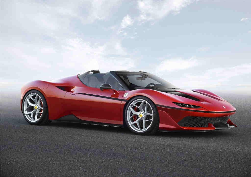Ferrari J50, el mejor homenaje para los 50 años de la marca en Japón