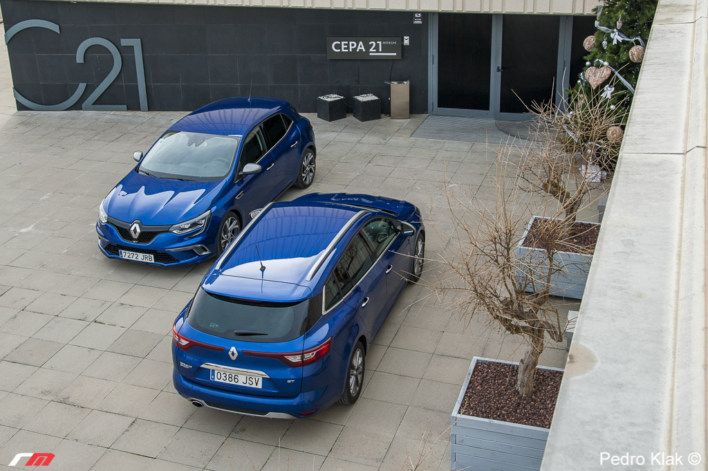 Foto Renault Megane GT y Sport Tourer GT