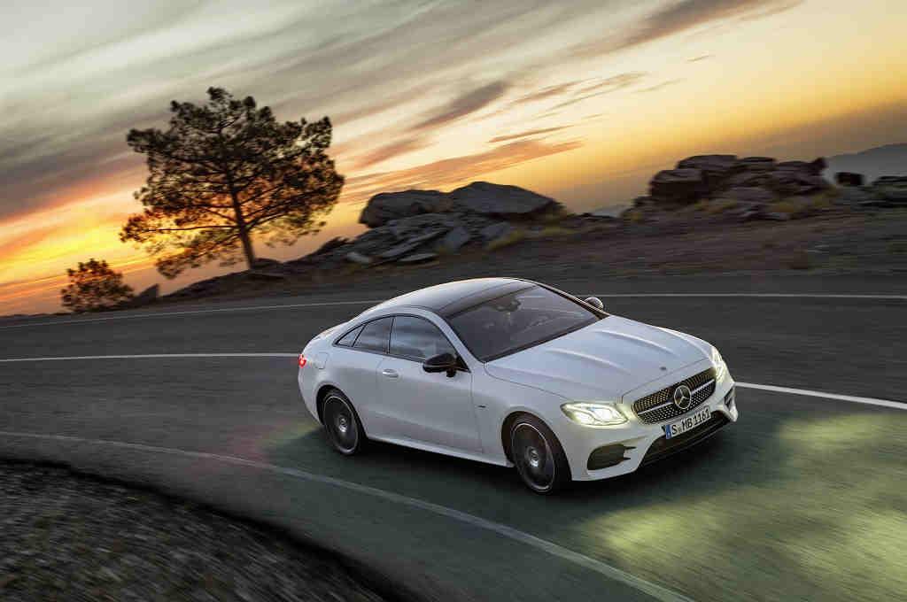 Mercedes-Benz Clase E Coupé 2017, deportividad sin renunciar al confort