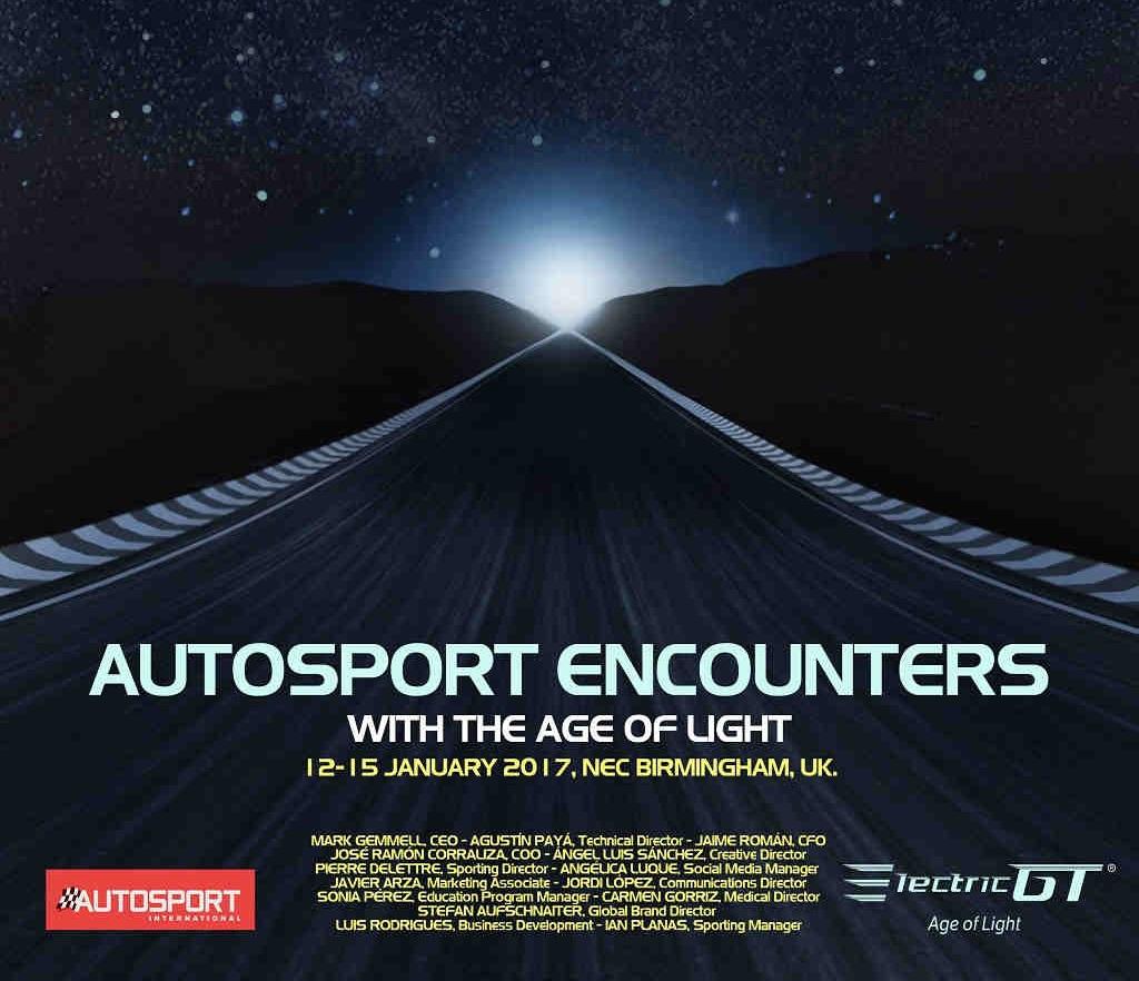 El Campeonato de GT Eléctricos, en el Autosport International