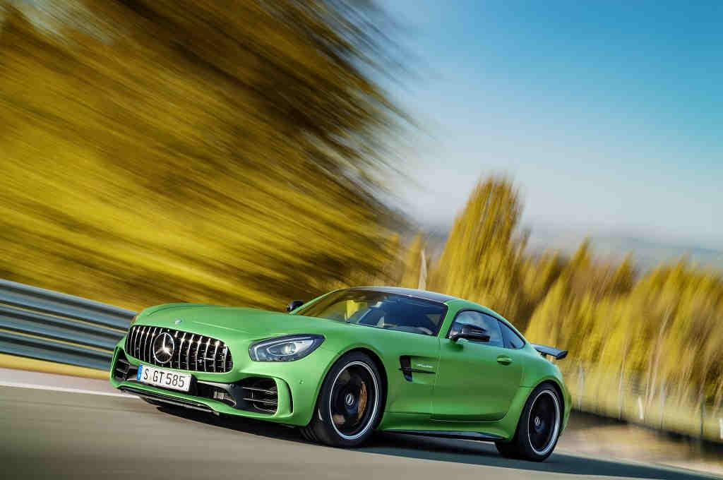 Mercedes-AMG GT R, la bestia del 'Infierno Verde'