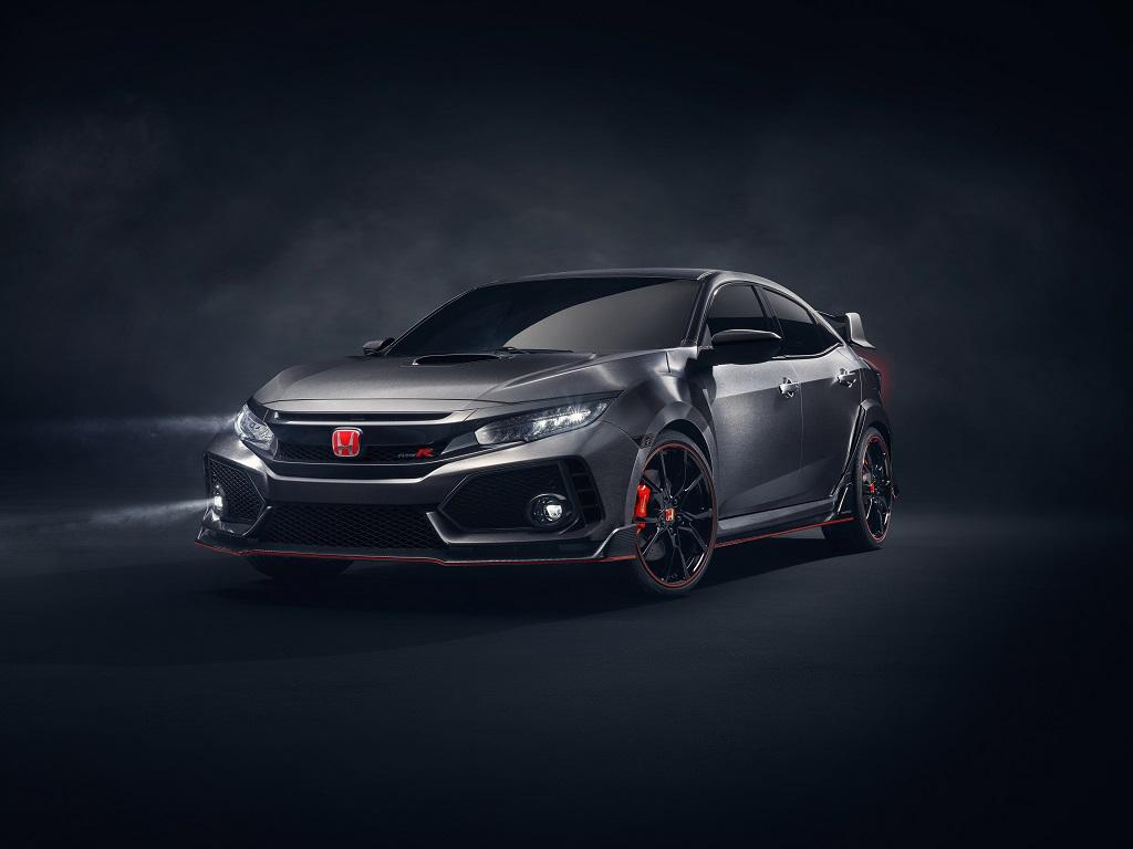 El nuevo Honda Civic Type R hace su debut oficial en Asia