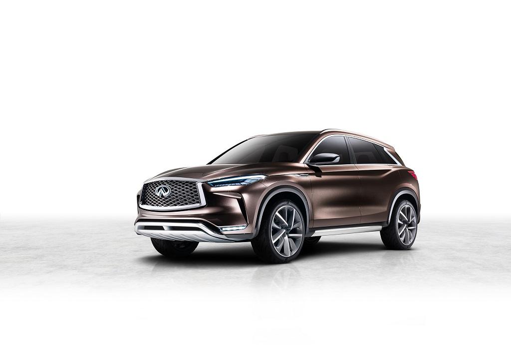 Infiniti presenta el QX50 Concept, la próxima generación de SUV premium