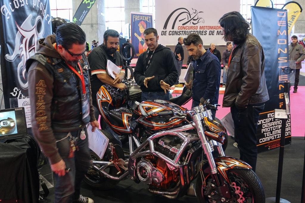 El II Concurso de Constructores de Motocicletas, presente en MotoMadrid 2017
