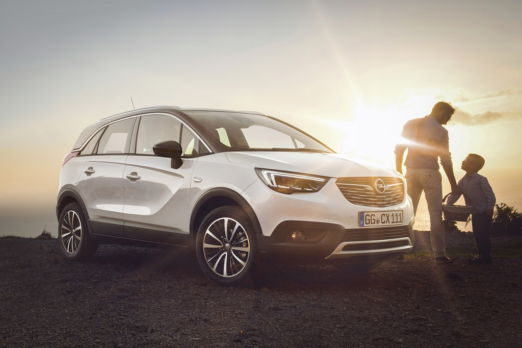 Nuevo Opel Crossland X, el crossover para entornos urbanos