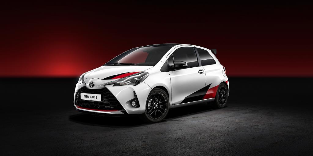 La versión más deportiva del Toyota Yaris se deja ver en imágenes