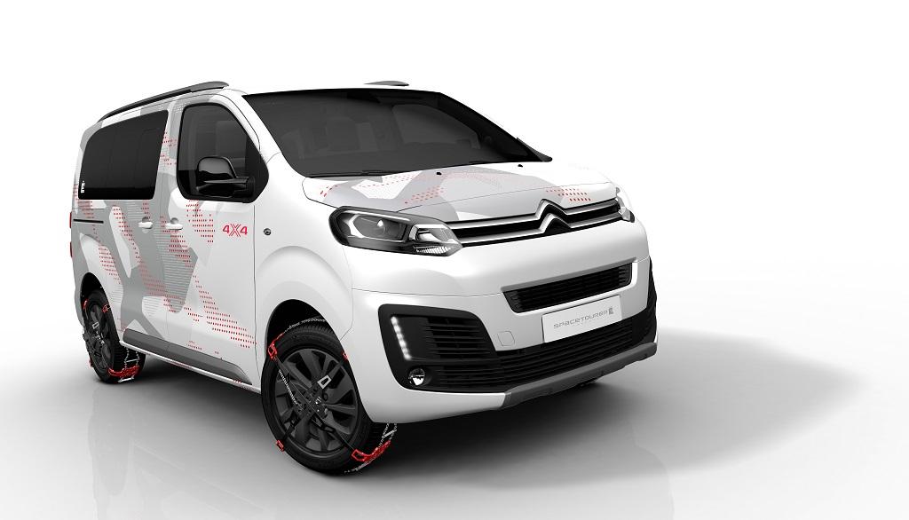 Citroën Spacetourer 4X4 Ë Concept: aventura y utilidad sin renunciar al estilo
