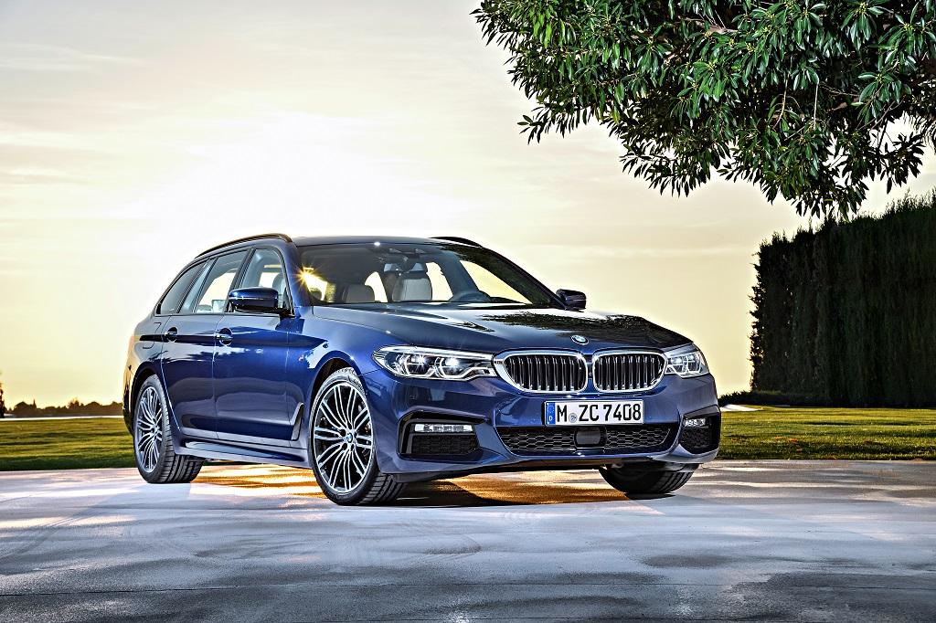 El nuevo BMW Serie 5 Touring debutará el próximo mes de marzo