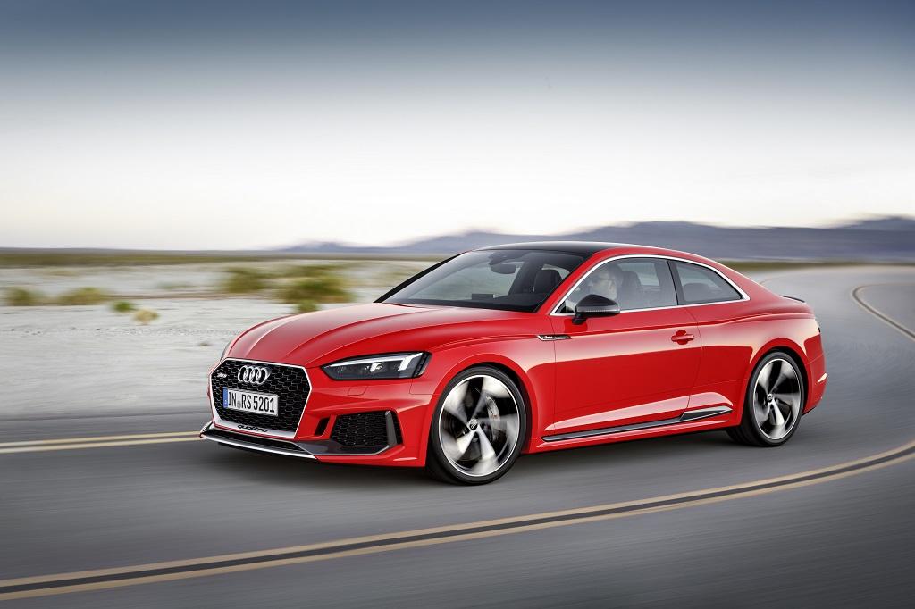 Nuevo Audi RS 5 Coupé: prestaciones superiores, eficiencia mejorada