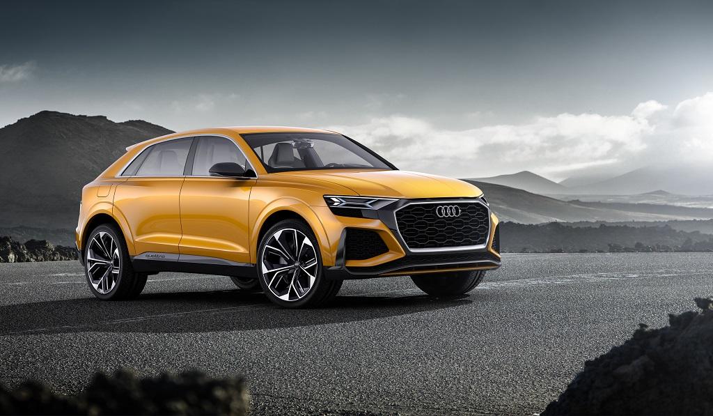 Audi Q8 sport concept: hacia nuevas cotas de eficiencia