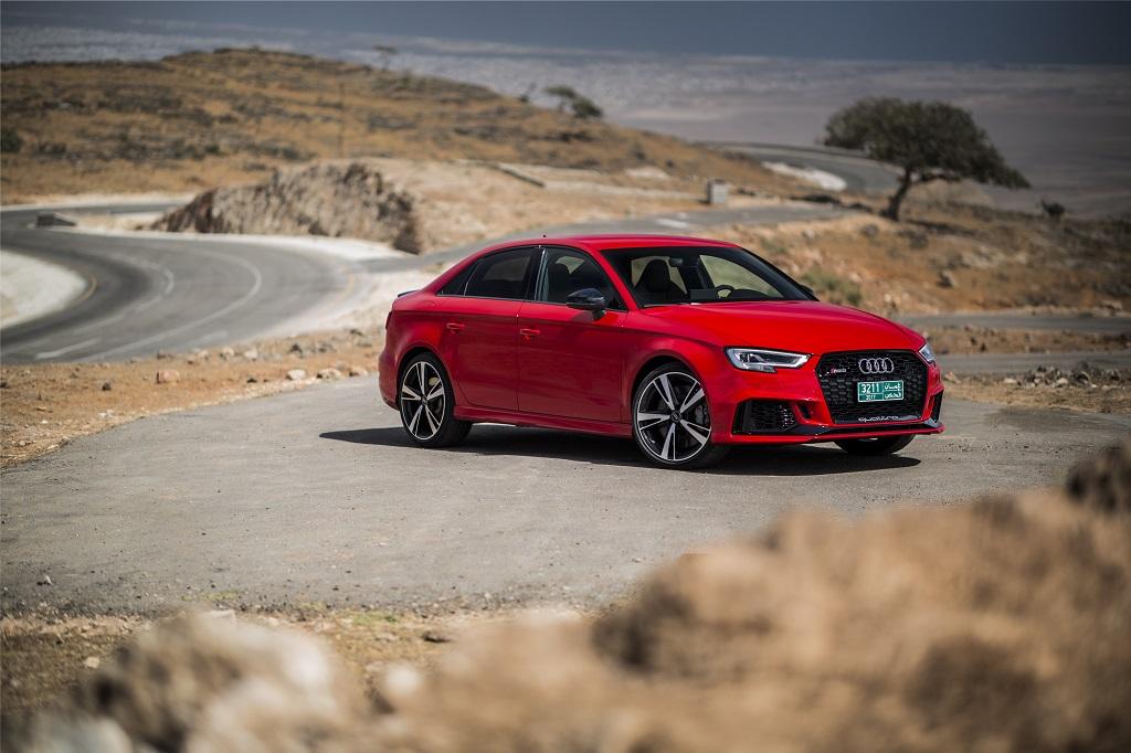 Audi RS 3 Sedan: la carrocería sedán estrena por primera vez el logo RS