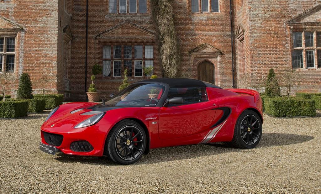 El nuevo Lotus Elise Sprint reduce aún más su peso hasta los 798kg