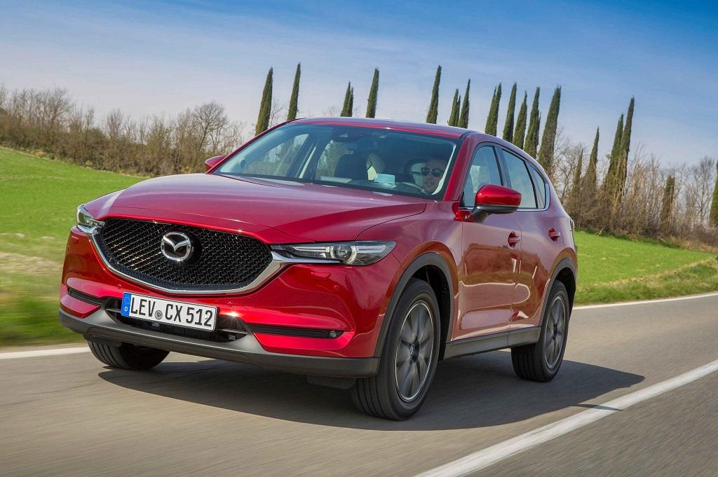 La versión renovada del Mazda CX-5 llegará a España en mayo