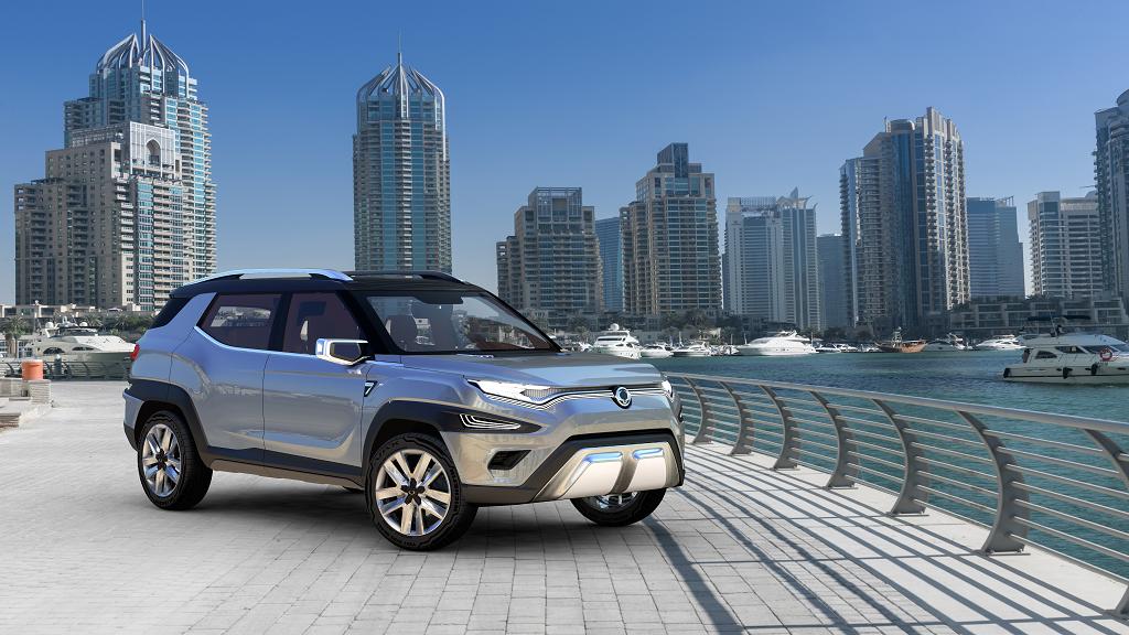 Ssangyong muestra el SUV XAVL concept y el Korando 2017 en Ginebra