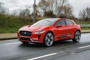 El nuevo Jaguar I-PACE se deja ver por las calles de Londres