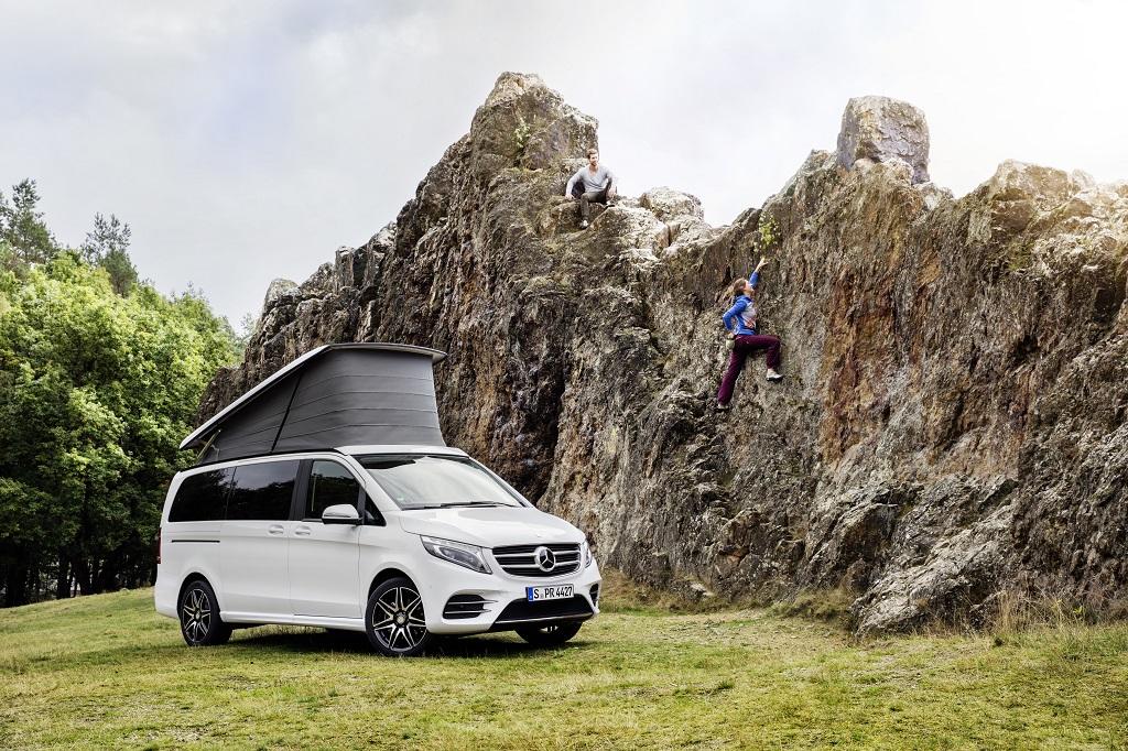 Marco Polo Horizon, el nuevo miembro de la familia camper de Mercedes-Benz