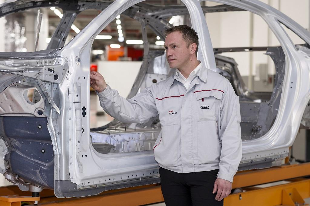 Cuatro materiales diferentes para la carrocería del nuevo Audi A8