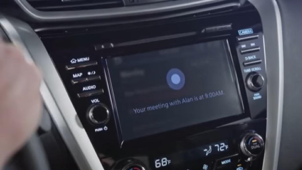 Cortana, el asistente virtual de Microsoft, estará disponible en la gama Nissan