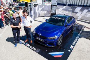 El BMW M4 CS será el premio para el mejor piloto en clasificación de MotoGP