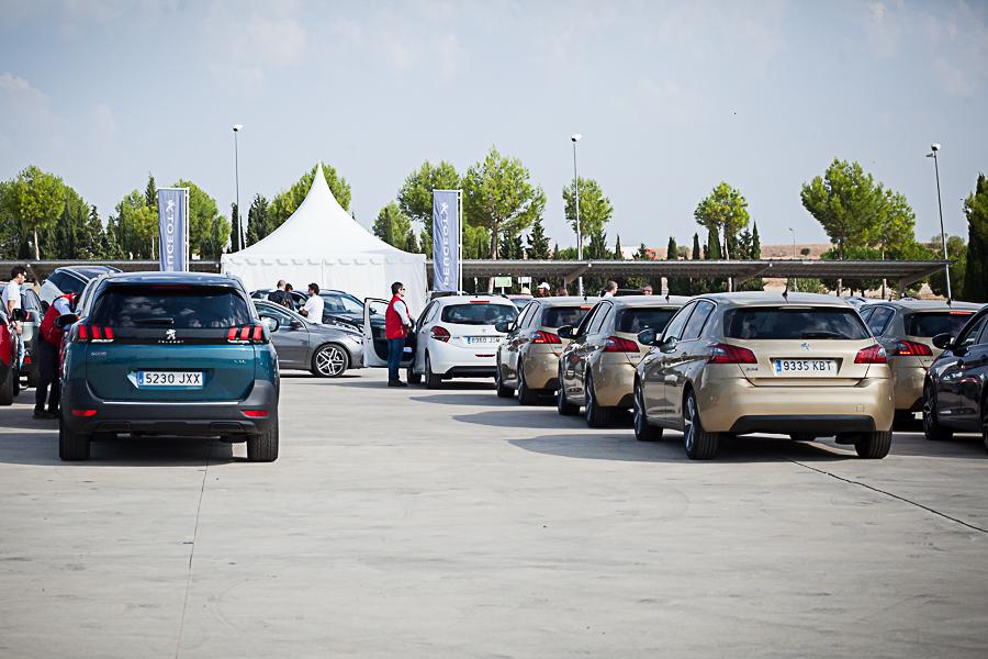 El Peugeot Experience, un éxito con casi 2.000 asistentes en dos días