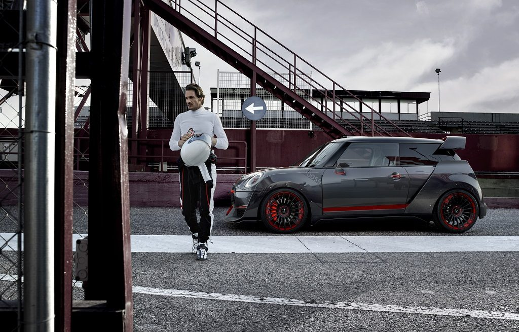 MINI John Cooper Works GP Concept: ideal para los 'trackdays'