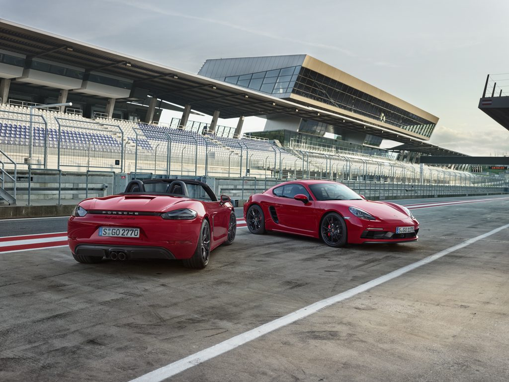 718 GTS Boxster y Cayman