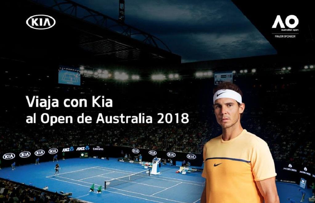 ¿Quiéres ir al Open de Australia 2018? Kia te brinda una oportunidad