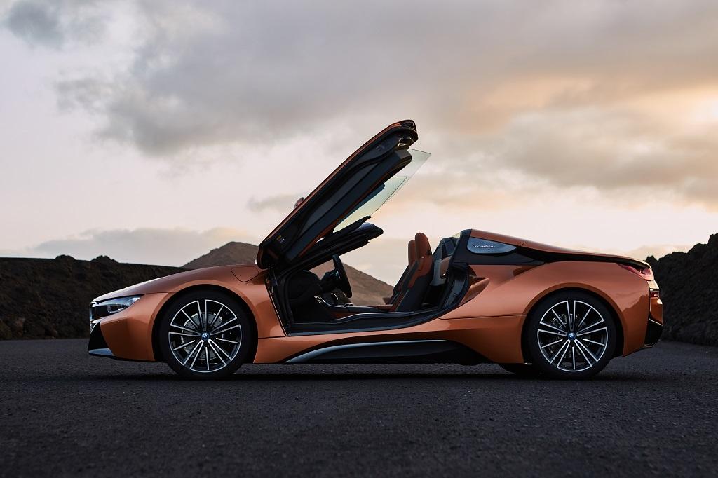 Nuevo BMW i8 Roadster: potencia y eficiencia a cielo abierto