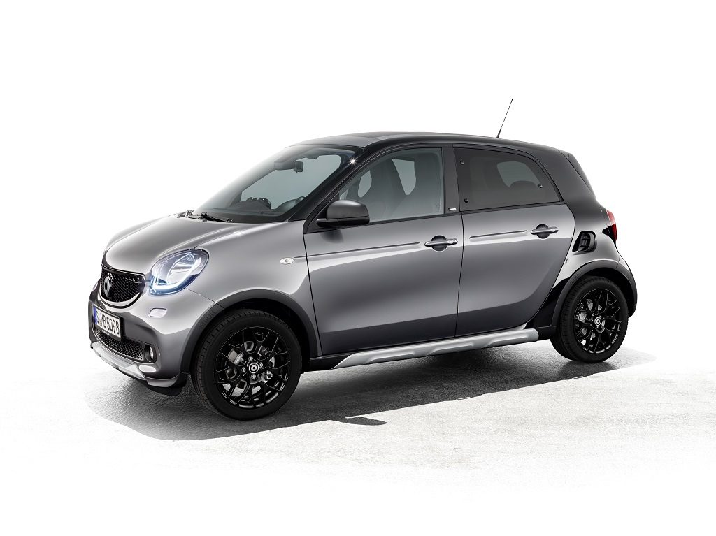 Nuevo smart forfour crosstown edition: aroma a crossover