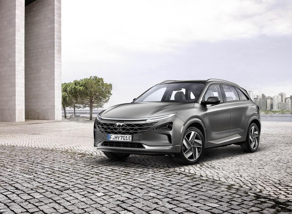 El nuevo Hyundai NEXO se podrá ver y tocar en España
